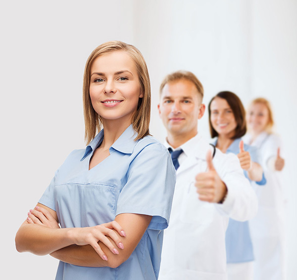 Join group of medical professionals